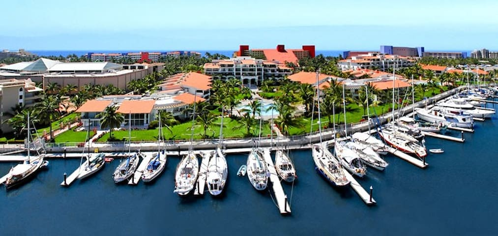 GREAT MARINA NVO VALLARTA CONDO - 下聖胡安(San Juan de Abajo) - 公寓