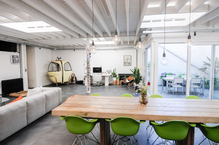 Sunny loft near city centre in a green environment - Leuven - Apartament