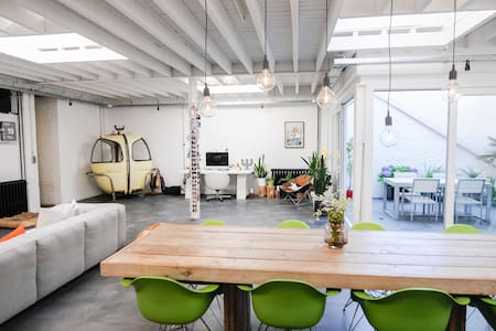 Sunny loft near city centre in a green environment - Leuven