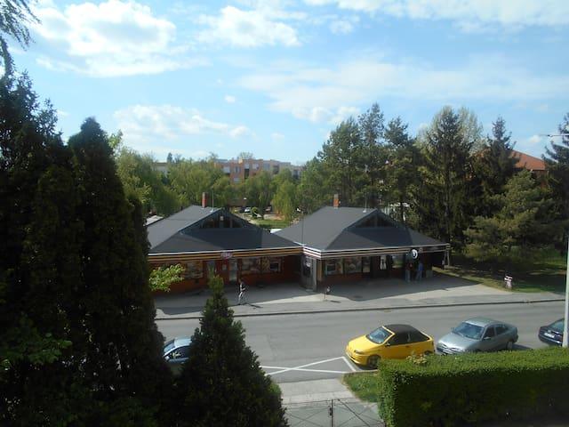 Kilátás az erkélyről