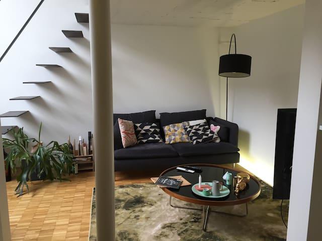 Double-story atelier loft - Zürich - Flat