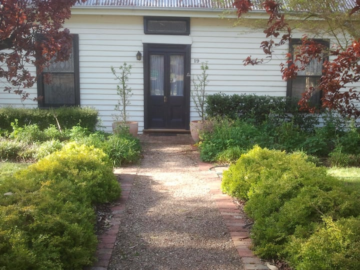 An 1860's   country house with large garden