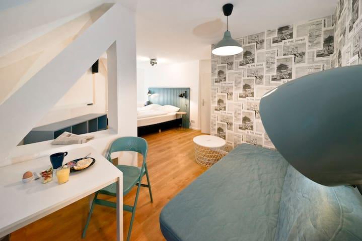 Top floor Studio Prenzlauer Berg/Friedrichshain