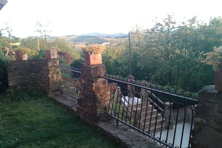 Casa tranquilla in posizione panoramica - Montegrosso D'asti - Villa