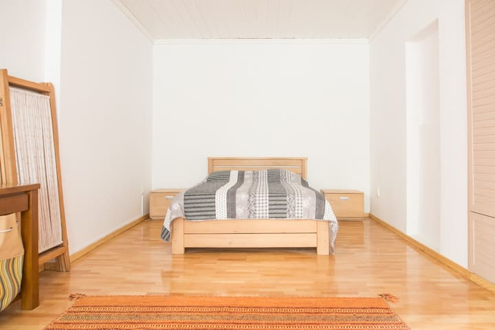 This is your new bedroom.
