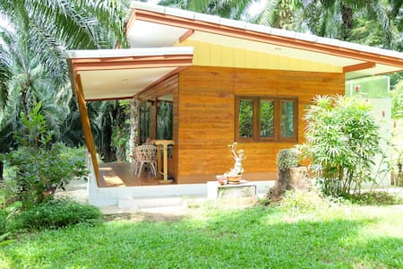 Bungalow near Hot Spring Waterfall - Khlong Thom Tai - Bungalov