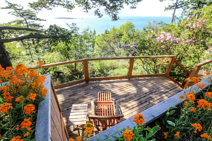Beautiful waterfront house w/ glorious bay views & entertainment - beach nearby!