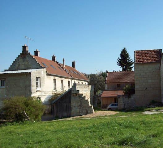 Les pas de moineaux - Cœuvres-et-Valsery - Lejlighed