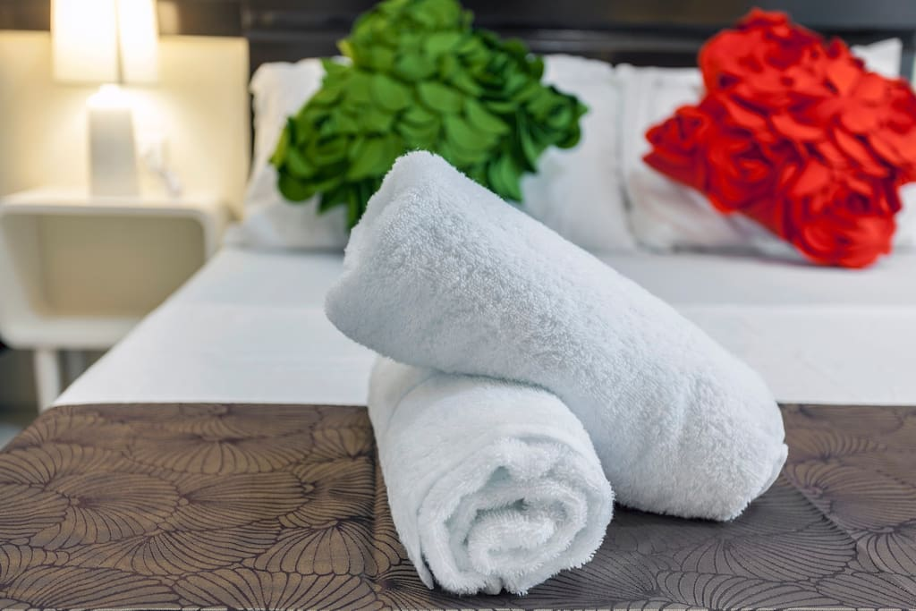 Fresh towels