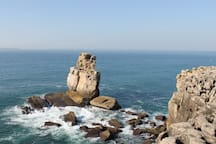 Peniche at 10 minutes driving from Vila Oasis Verde.