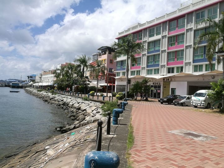 2 SEA VIEW Sandakan City Town Centre Back Packer