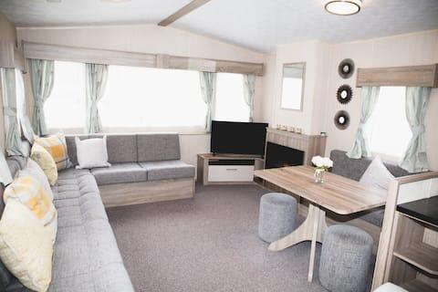 Atemberaubender statischer Wohnwagen im Herzen von Essex