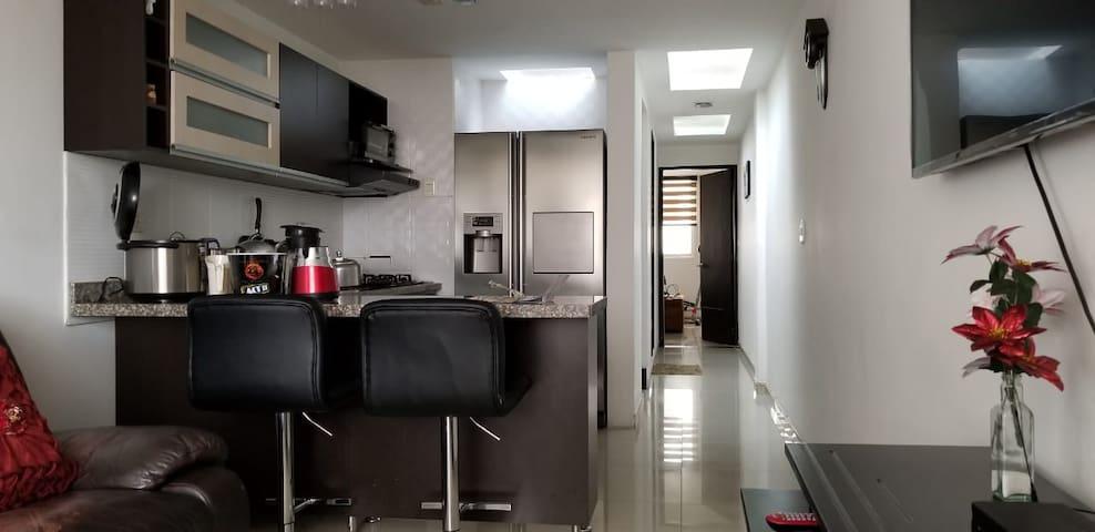 Genial localización. Super cómodo apartamento.