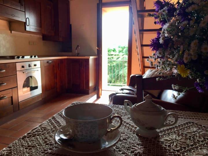 Borgo Anconella - casa nel verde dell'Appennino