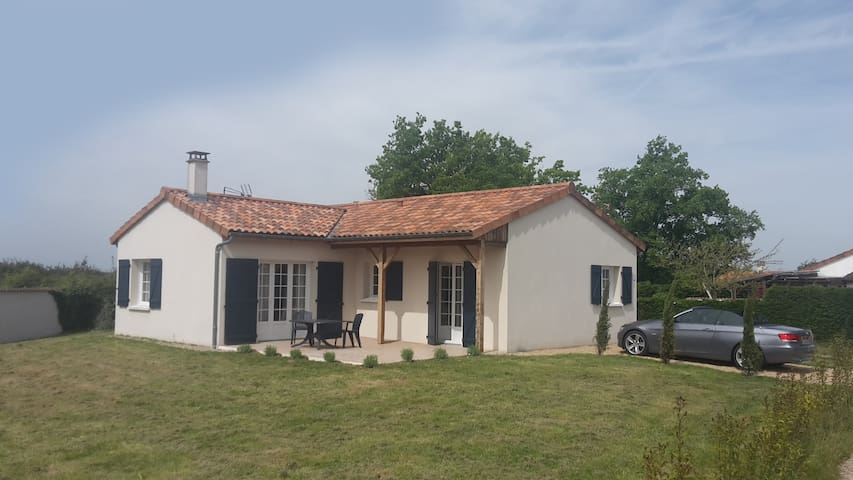 Villa on golfresort 4 persons - Vasles - Ev