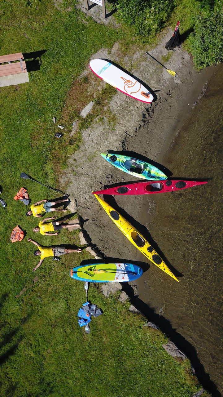 Paddle Boards, Kayaks, Canoes and fun!