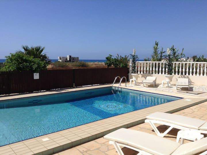 Augusta villa with big pool