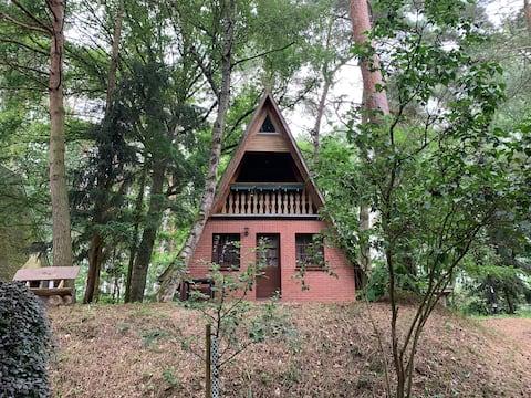 Finnhütte 2 inmitten der Natur