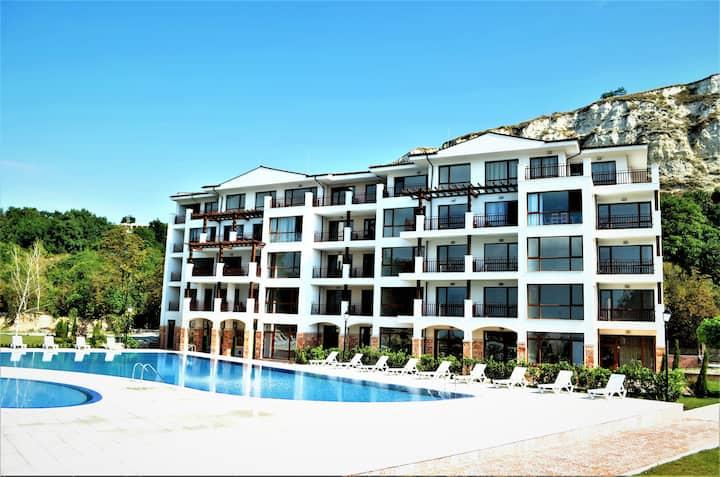 Apartment with one bedroom, Komplex Balchk Gardens