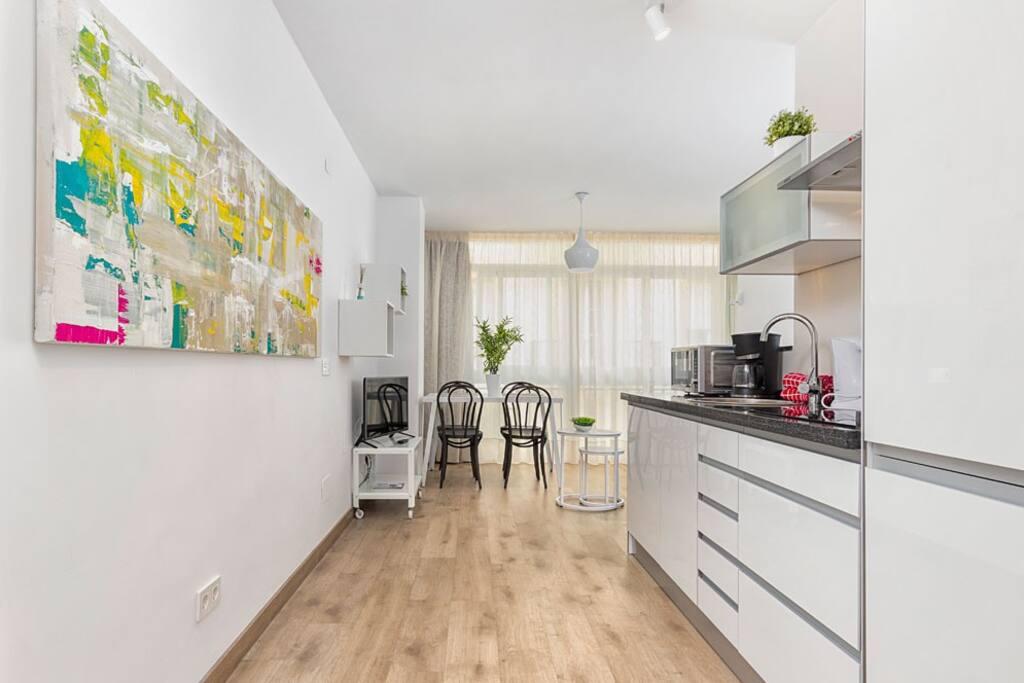 Apartamento deluxe soho centro apartamentos en alquiler en m laga andaluc a espa a - Apartamento en malaga centro ...