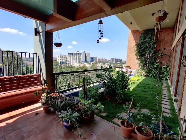 Large apartment in Bangalore's best community