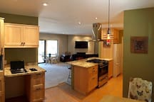 Full Kitchen - Adjoining Living Area