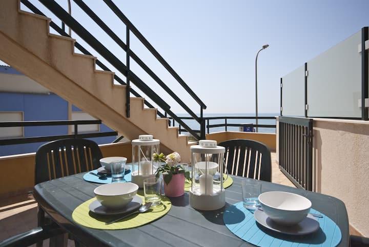 Appartamento con splendida vista mare - Casa Faro