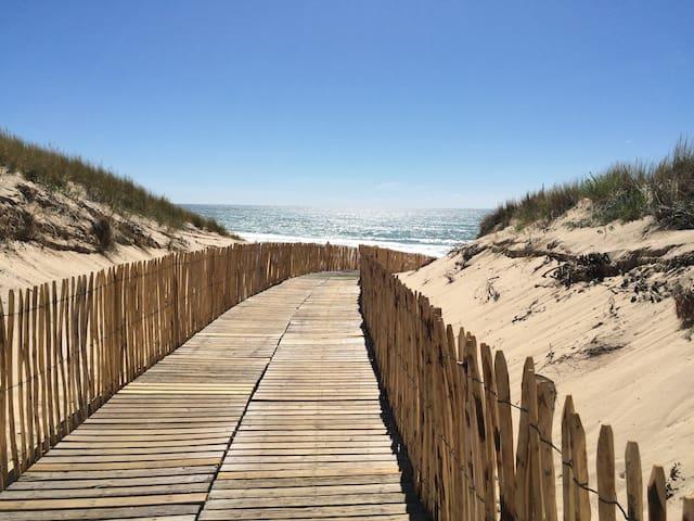 Maisonnette dans résidence en bord de dune