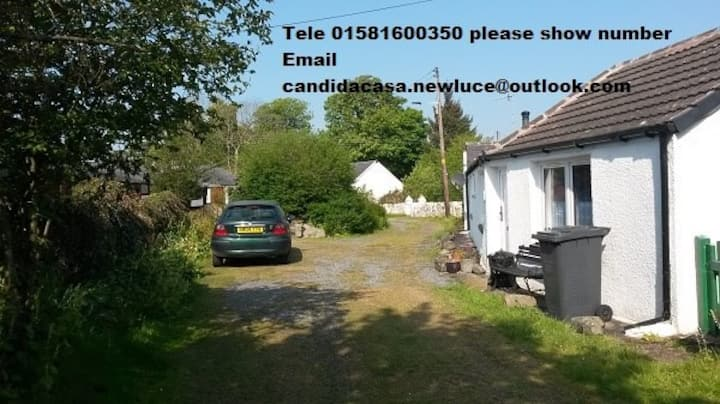 """Candida Casa.  The """"New Luce"""" Campers Cottage,"""