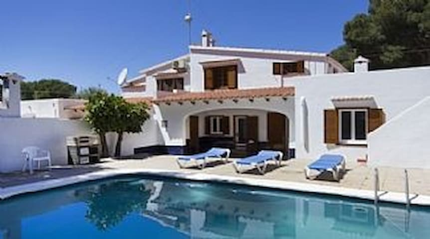 Villa In Cala Gladana Situated Located In A Quite Resort. Sleeps 9. Private pool