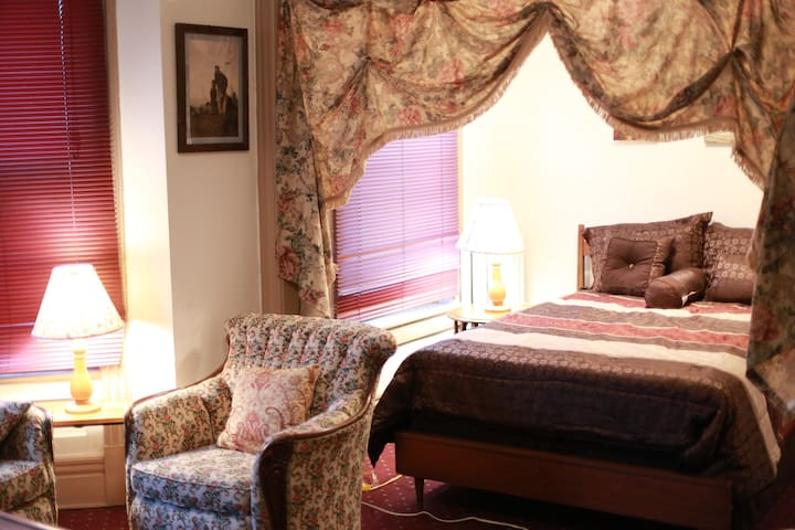 Historical Master Bedroom in the heart of Albany - Albany - Apartment