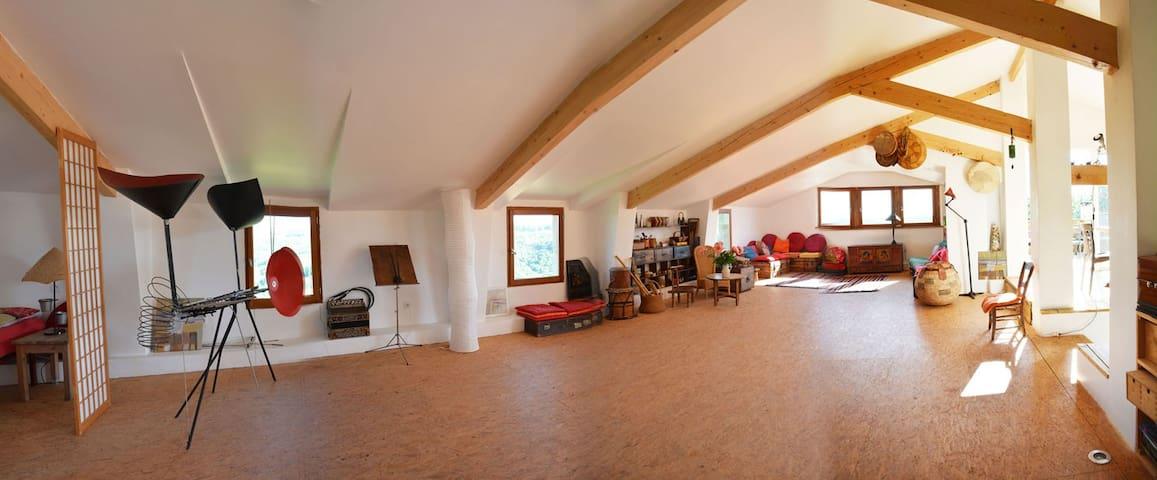 Atelier _ La Maison de Bartimée - Saint-Marcel-Campes - Dům