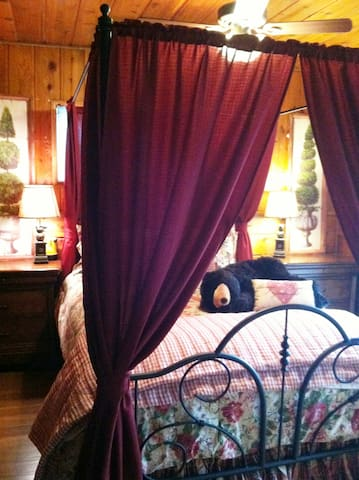 Lazy Bear Lodge, Spa, Dogs, Fenced, WIFI, Deck