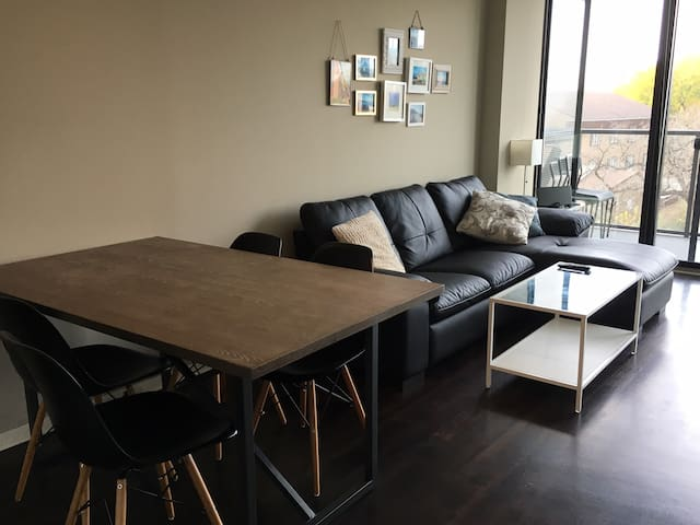 Cozy and fully furnished apt in downtown Evanston - Evanston - Wohnung