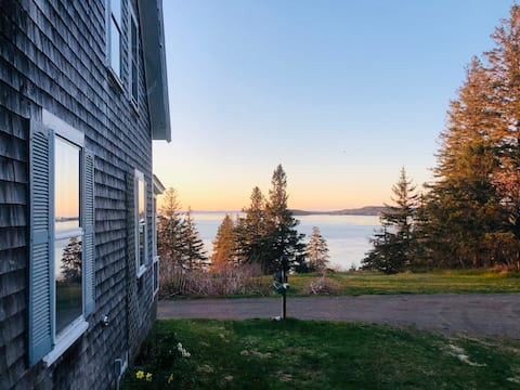 Rustic-Modern Cottage with Passamaquoddy Bay Views