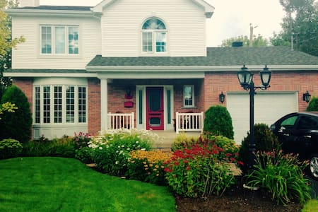 Beau cottage, quartier paisible ! - Sherbrooke - Casa