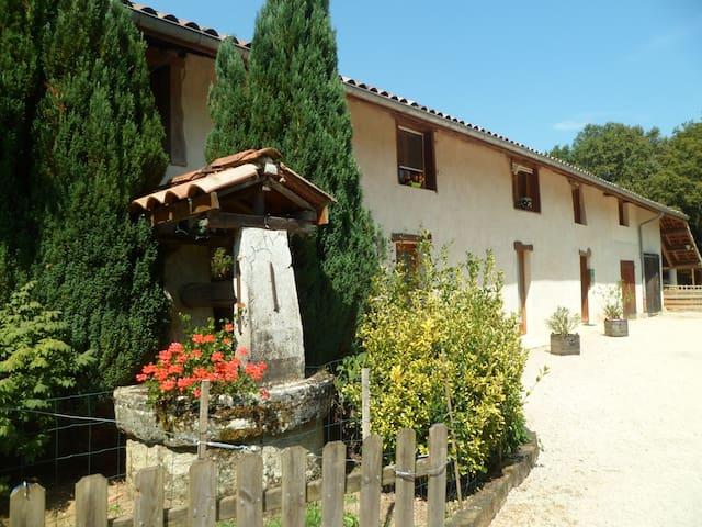 le paradis vert - Pirajoux - Dům pro hosty