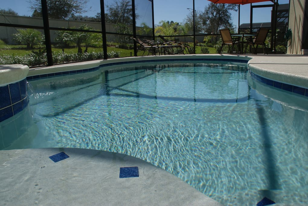 Do you hate crowded pools ? Here you can swim in your own private pool !