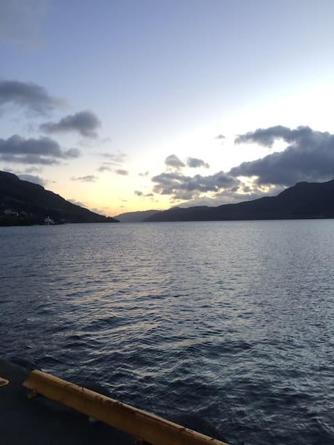 Sandeidsjøen - et sted for både hvile og aktivitet