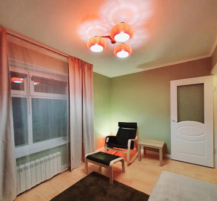 Уютная квартира недалеко от центра