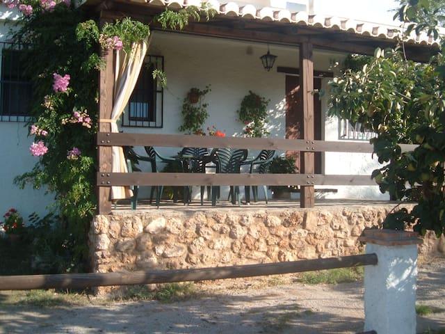 Casa La Leñera con vistas a Granada - Monachil - Casa