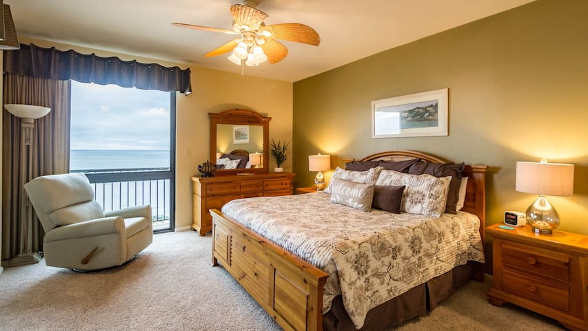 Spectacular Views from the master bedroom