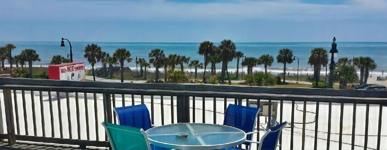 Private Myrtle Beach Condo w Ocean View on Boardwk
