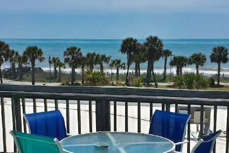 Private Family Condo w Ocean View on Boardwalk