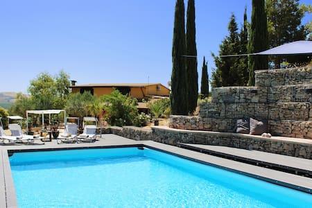RURAL Sicily Villa Large 5*Family +Pool & Privacy
