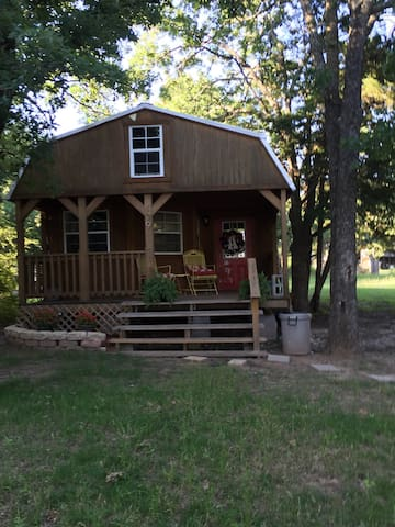 Cozy cabin with great lake views! - Mexia