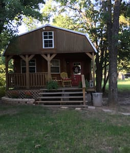 Cozy cabin with great lake views! - Mexia  - Huis