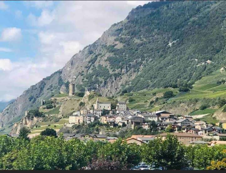Joli 2 pièces aux Bains Thermaux de Saillon