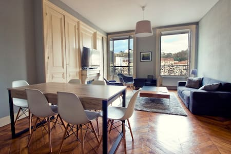 Spacious apartment with view on the river - Lyon - Lyon - Wohnung