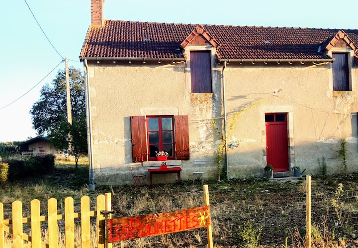 Original 19 century farmhouse.